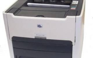 Установка драйвера для принтера HP LaserJet 1320
