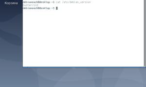 Установка Debian при помощи виртуальной машины VirtualBox
