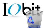 Полное удаление продуктов IObit с компьютера