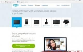 Совершение видеозвонка в программе Skype