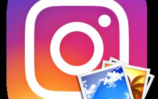 Как добавить фото в историю Instagram
