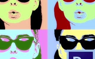 Рисуем поп-арт портрет в Фотошопе