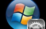 Работа с Панелью инструментов в Windows 7