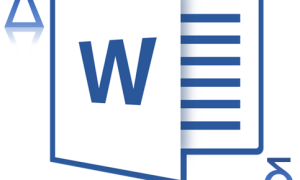 "Вставка знака ""дельта"" в Microsoft Word"