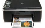 Получение драйверов для МФУ HP DeskJet F4180