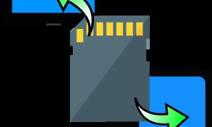 Подключение карты памяти к компьютеру или ноутбуку