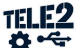 Настройка USB-модема Теле2