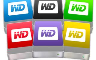 Что означают цвета жестких дисков Western Digital