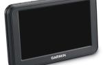 Обновление карт на навигаторе Garmin