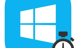 Ставим таймер выключения компьютера в Windows 8