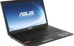 Скачивание драйверов для ноутбука Asus X53U