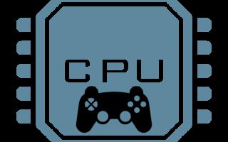 Что делает процессор в играх