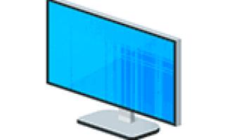 Решаем проблему с полосами на экране ноутбука