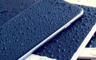 Что делать, если в iPhone попала вода