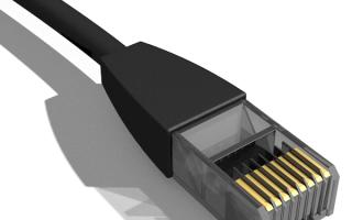 Устранение причин отсутствия сетевого кабеля в ОС Windows