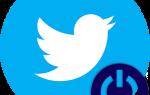 Как выйти из учетной записи в Twitter