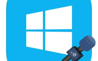 Включение микрофона на Windows 8