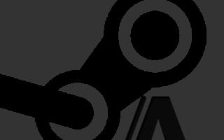 Необычный шрифт в Steam
