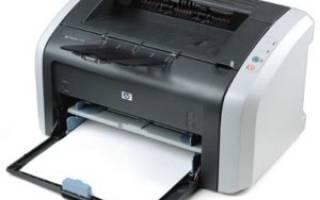 Скачивание драйвера для принтера HP Laserjet 1010
