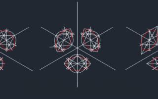 Как пользоваться аксонометрической проекцией в AutoCAD