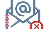 Отписываемся от рассылки на электронную почту