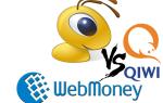 Сравнение платежных сервисов Qiwi и WebMoney