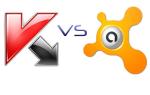 Сравнение антивирусов Avast Free Antivirus и Kaspersky Free