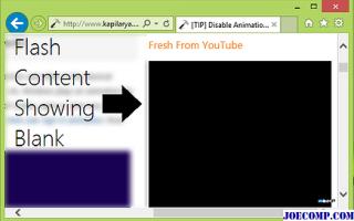 Причины неработоспособности Flash Player в Internet Explorer