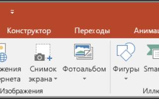 Создание диаграммы в PowerPoint
