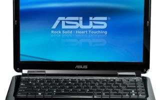 Установка драйверов для Asus K50C