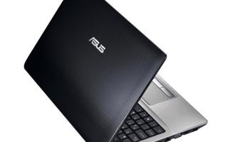 Скачивание драйверов для ноутбука ASUS K53SD