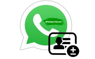 Добавление и удаление контактов в WhatsApp для Android, iOS и Windows