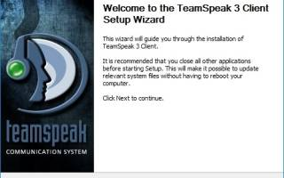 Устанавливаем TeamSpeak Client