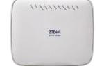 Настройка модема ZTE ZXHN H208N