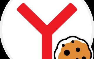 Как включить cookie в Яндекс.Браузере?