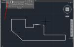 Как поставить размеры в AutoCAD