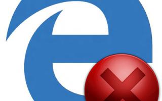 Что делать, если не запускается Microsoft Edge